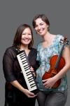 Klasik Elastik Melodica, piano, violin. Joanna Funk, Sophie Van Aerde