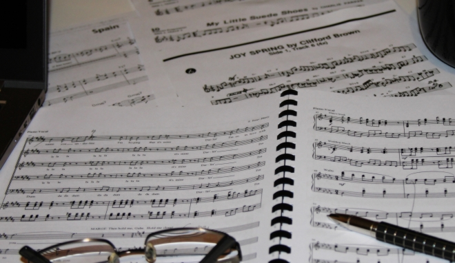 theatre score and jazz charts