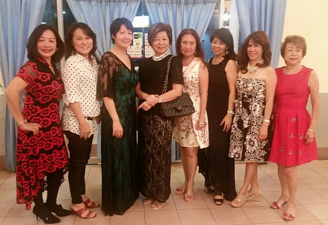 Tawau ladies out for a dinner