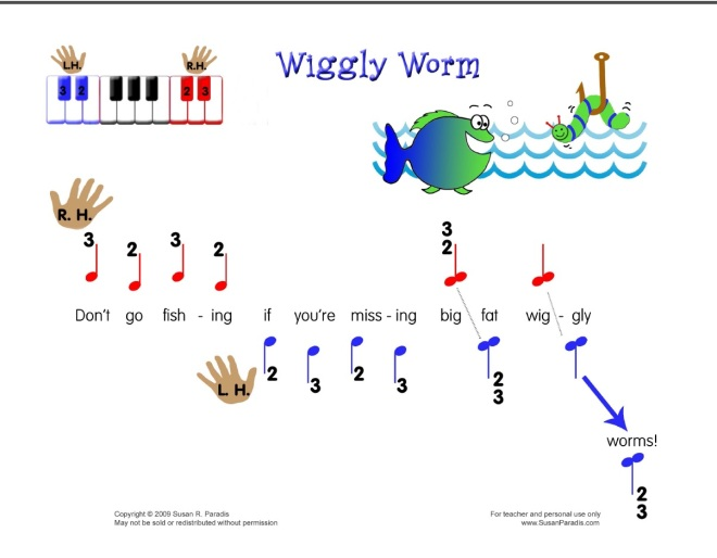 Wiggly Worms by Susan Paradis