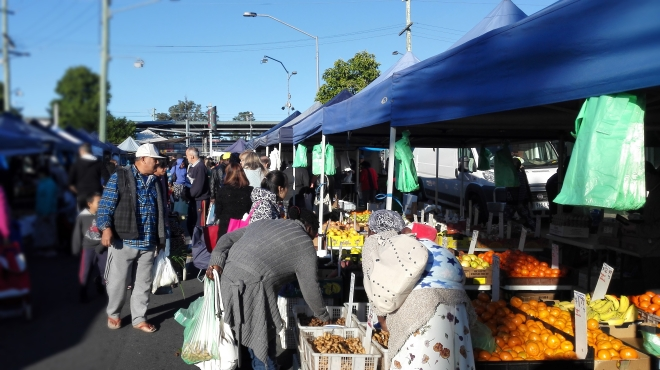Logan Woodridge market Brisbane Queensland