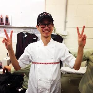 Lenny Lim, sous-chef, Sokyo