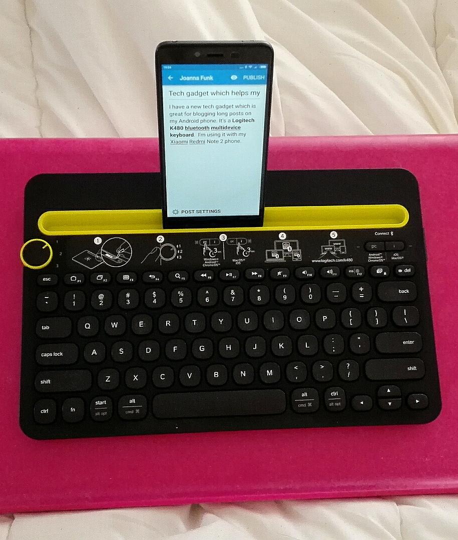 Bluetooth Keyboard For Phone Joanna Funk Logitech K480