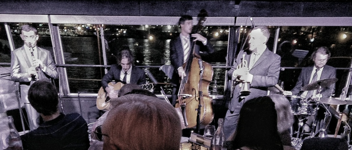 Hungaran clarinettist, Joe Fritz, Travis Jenkins, Dan Quigley, Gary Eideshaw, Andrew Shaw, clarinet, BJC, Brisbane Jazz Club,
