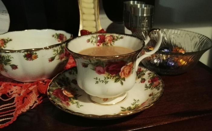 teacup fine china