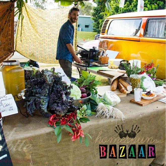 organic-vegan-food-at-homespun-bazaar