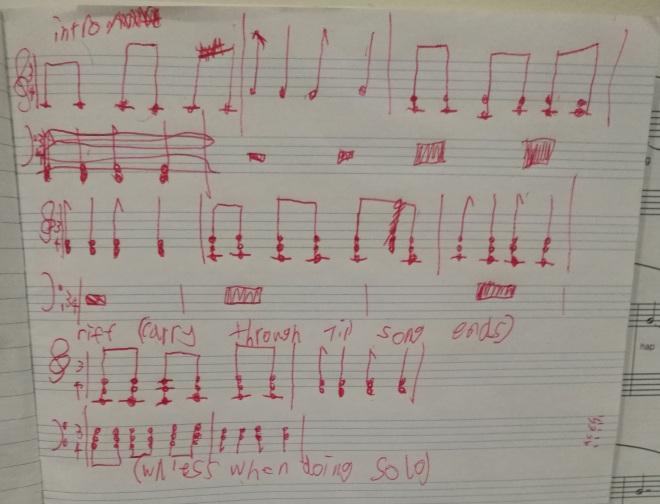 Work in progress: Arthur's original song 'Immortal'