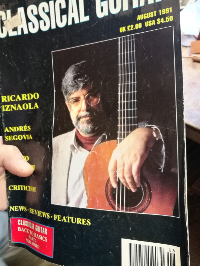 Classical Guitar, Richard Howell, luthier