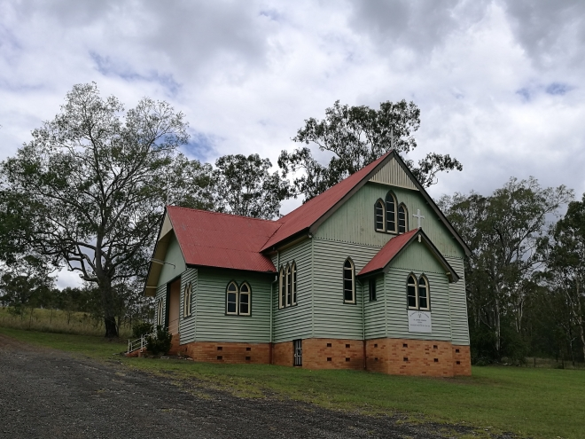 Kerry, Queensland, St John's Church, Scenic Rim