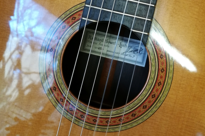 Richard Howell, luthier, handmade classical guitar