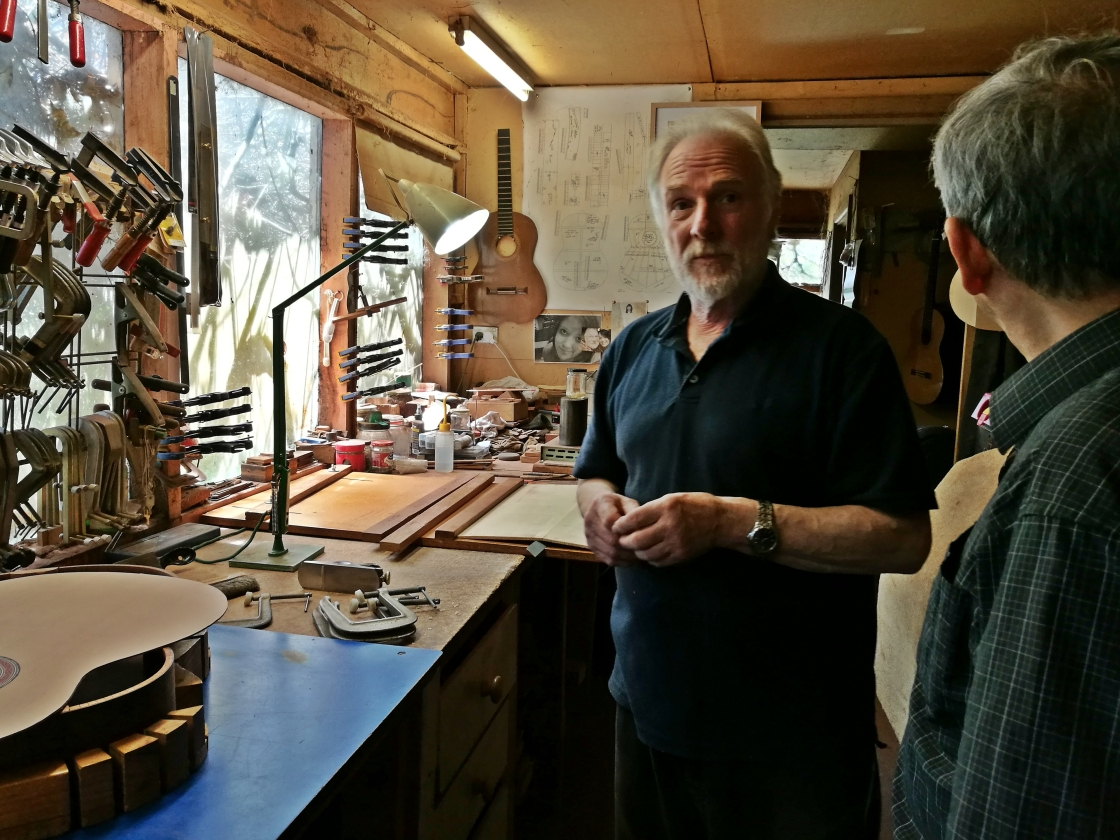 Australian luthier Richard Howell classical guitar interview