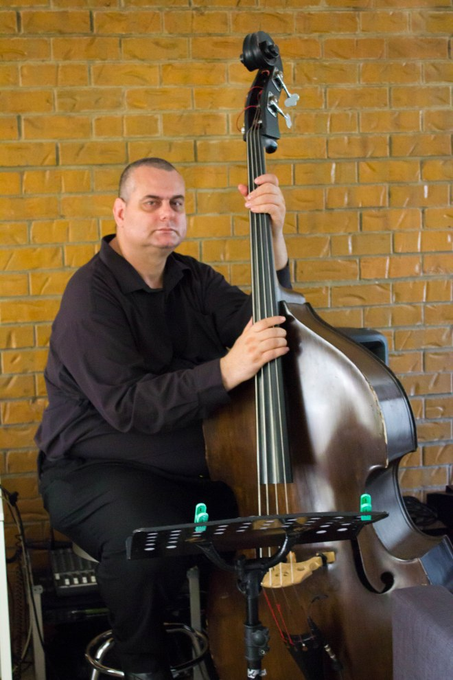 John Stefulj and double bass