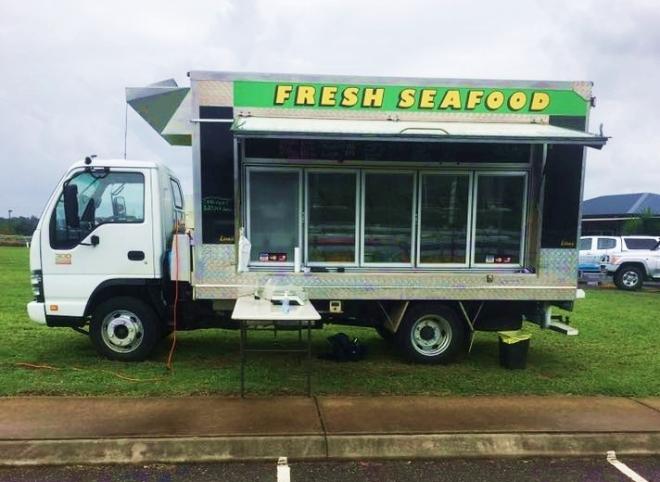 DJ Sensational seafood truck
