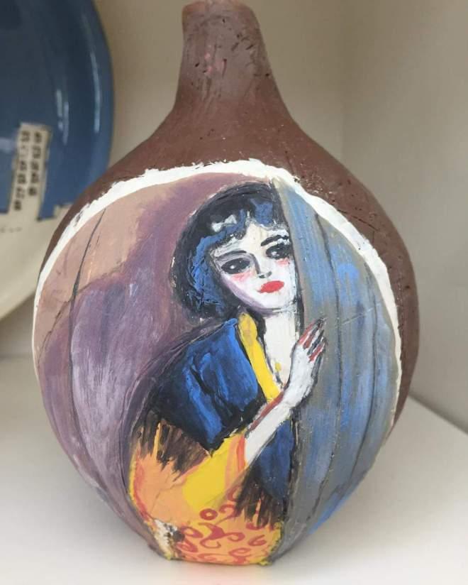 keesvandongen vandongen ceramics handpainted